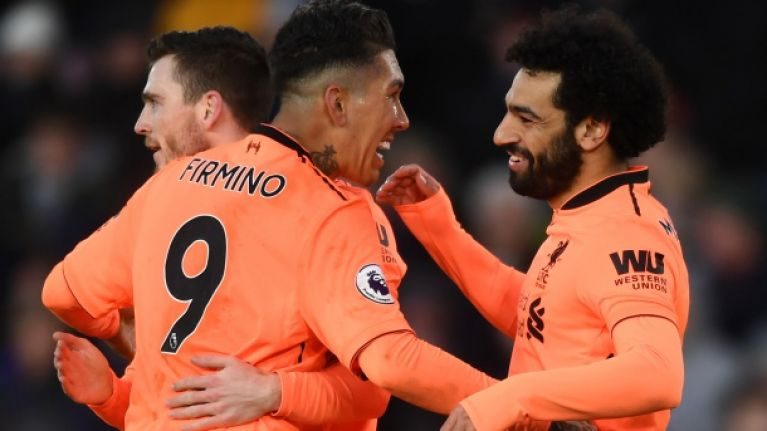 Liverpool fans revel in Mohamed Salah and Roberto Firmino's partnership