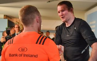 Donnacha Ryan clears up what he and the Munster lads were drinking after their game in Paris
