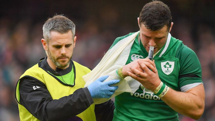 Robbie Henshaw to miss the rest of the Six Nations
