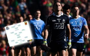 Dublin stick with same 15 but Mayo are missing 10 from last year's final