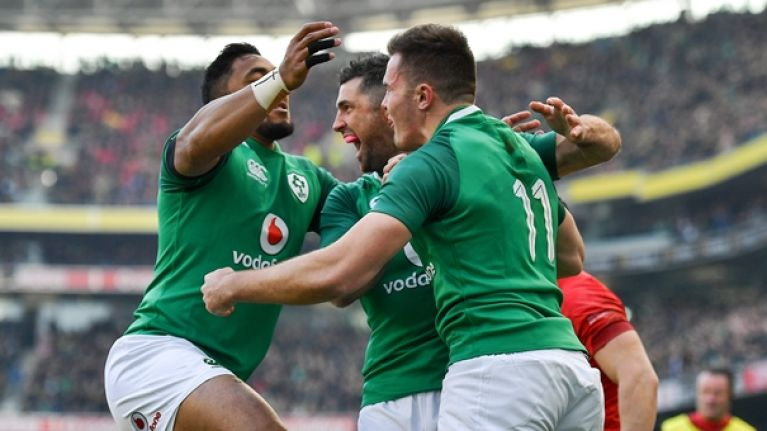 Chris Farrell tops Ireland ratings Conor Murray and CJ Stander not far off