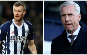 Chris Brunt got stuck into West Brom teammates and Alan Pardew after latest defeat
