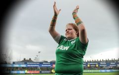 What Leah Lyons had to put up with during Ireland's victory over Wales is so depressing