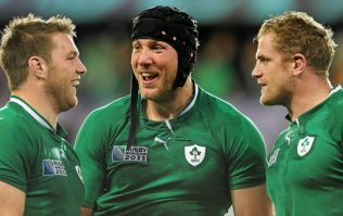 The sorry statistic of possibly Ireland's greatest ever back row