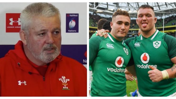 Warren Gatland gives sharp response to English reporter's claim Ireland are best Six Nations team