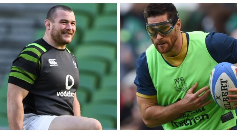 What Jack McGrath did for Ian McKinley after Ireland's win over Italy was pure class
