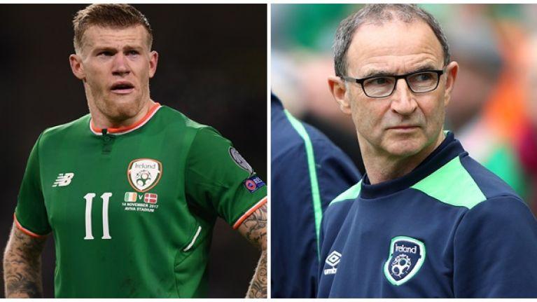 Republic of Ireland midfielder James McClean hits back at media criticism of Martin O'Neill