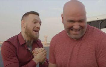 Dana White denies that Conor McGregor negotiations are underway