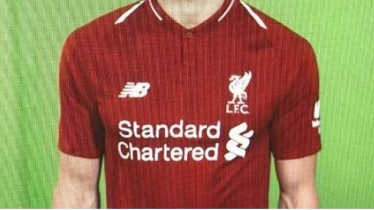 New liverpool uniform