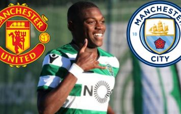 Manchester United and Manchester City tracking latest Sporting Lisbon wonderkid