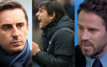 Antonio Conte hits back at 'stupid' Redknapp and Neville after duo's scathing Chelsea criticism