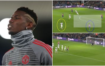 Paul Pogba's role in Crystal Palace's goal needs to be examined