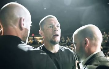 Sean O'Malley took being singled out by Nate Diaz about as well as could be expected