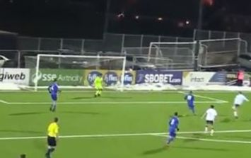 You'll want to see this cracking volley during Ireland u15 victory