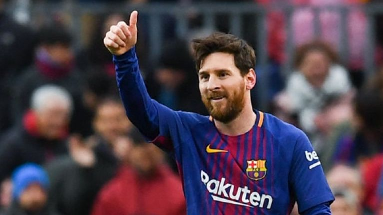 Lionel Messi named the new Barcelona captain