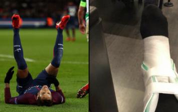 PSG dealt cruel blow as Brazilian team doctor issues Neymar injury update