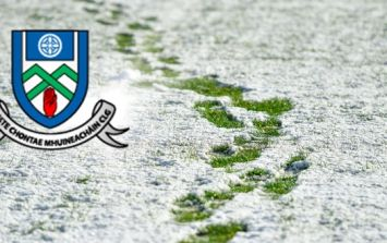 Monaghan GAA players made best use of snowy pitch with training called off