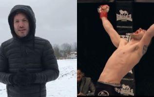 Irish MMA star Chris Fields' huge opportunity ruined by Storm Emma