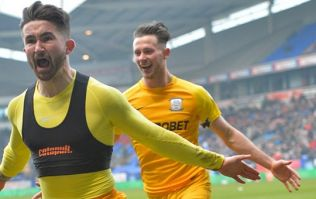 WATCH: Sean Maguire scores twice on return from injury to give Preston derby win
