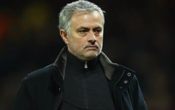 Jose Mourinho's 'chair' comments did not go down well with Manchester United fans