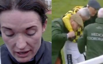 Katy Walsh's reaction to seeing Ruby just after his fall puts it all into perspective