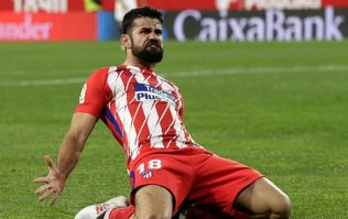 Diego Costa has a sly dig at Antonio Conte during Barcelona match