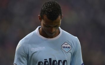 Ex-United winger Nani held back by Lazio teammates in furious mid-flight spat with fans