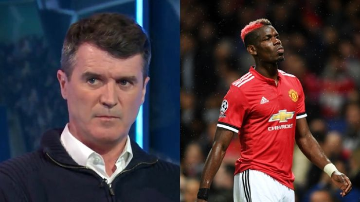 "Roy Keane says Paul Pogba was like a ""schoolboy"" against Sevilla"