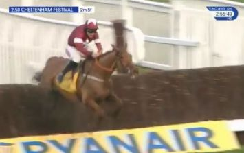 Un De Sceaux is stunned as Balko Des Flos wins Ryanair Chase
