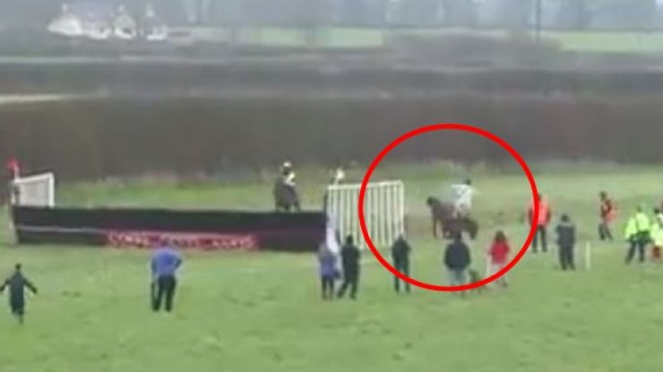 Limerick jockey wins absolutely ridiculous race by 'process of elimination'