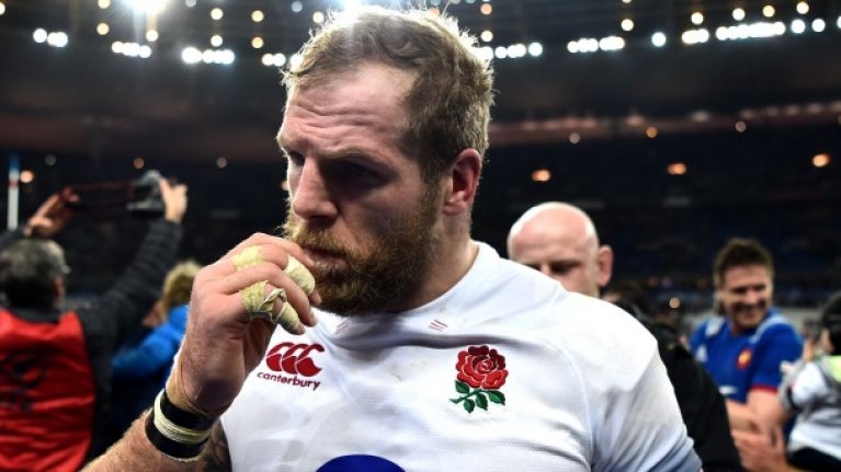 'A lot of players enter by the front door and are carried out the back door' - James Haskell