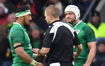 Here's why Bundee Aki avoided a card for his absolutely crunching hit on Elliot Daly