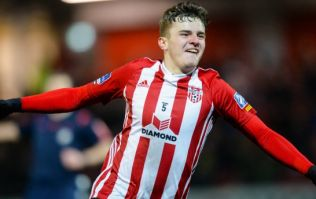 Derry City dynamo Ronan Hale, like his grandfather before him, delights in lighting up the Brandywell