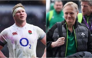 There was a lovely moment between Joe Schmidt and Dylan Hartley after Ireland's victory