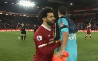 Mo Salah apologised to Watford's goalkeeper after ruining his day