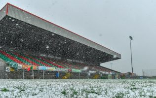 Games all over postponed due to snow covered pitches
