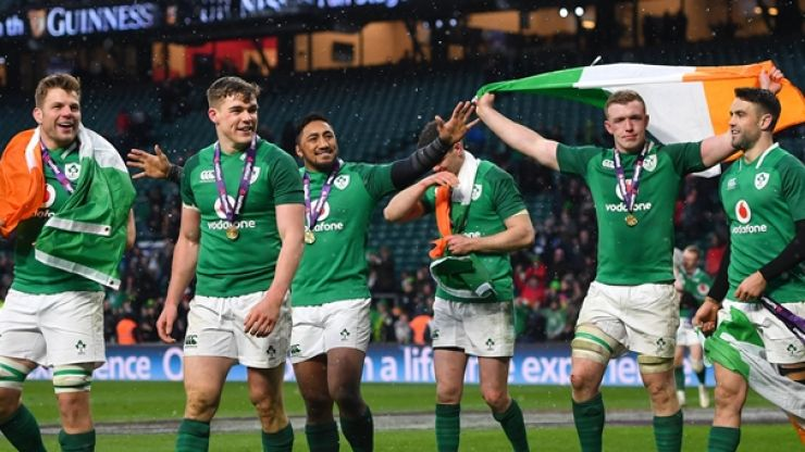 Ireland to receive further world rankings boost on Monday
