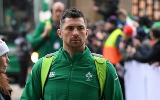 Shane Ross mistakes Rob Kearney for Dave at Ireland homecoming