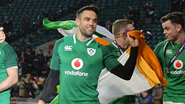 Referee microphone picked up England players calling out hits on Conor Murray