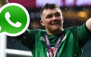 Peter O'Mahony sent a lovely text to an injured Ireland teammate on Sunday morning