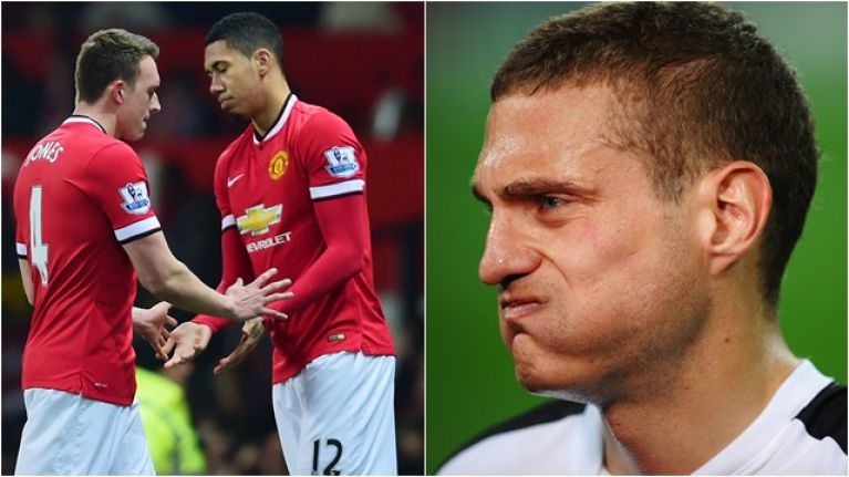 Vidic's honest take on Jones' and Smalling's struggles is harsh enough on himself