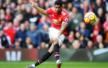 Marcus Rashford's opener against Liverpool had more than a hint of Ronaldo about it
