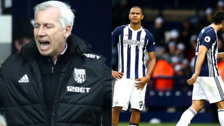 Alan Pardew launches extraordinary attack on his own players as West