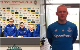 Wayne Rooney sends heartwarming message to Down Syndrome team from Derry