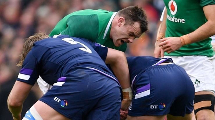 IRFU provide update on Cian Healy following worrying knock