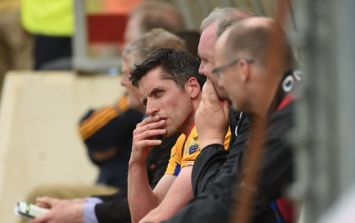 Footage emerges of Clare footballer allegedly squirting water at umpire