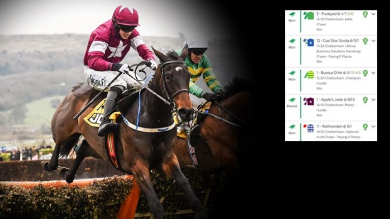 Apple's Jade gets the Annie Power treatment off punters as bookies breathe sigh of relief