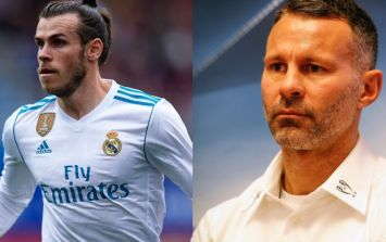 Manchester United legend Ryan Giggs isn't keen on Gareth Bale moving to Old Trafford