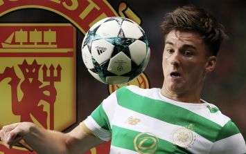 Manchester United hoping to secure bargain price for Celtic's Kieran Tierney