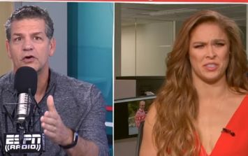 Ronda Rousey avoids answering obvious question in outrageously awkward interviews